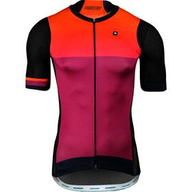 Biehler Pro Team - Maillot manches courtes Homme - orange/violet